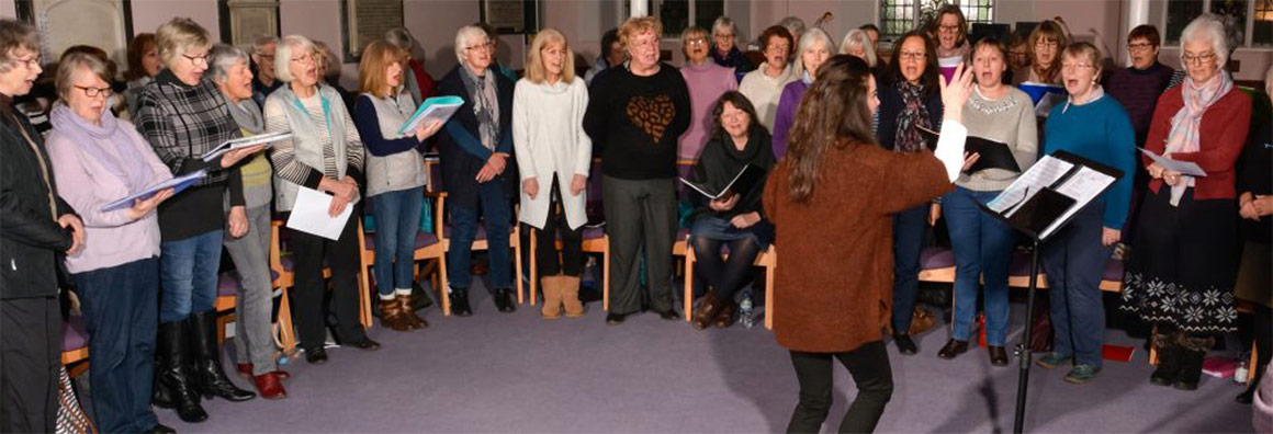 Blackdown Choir Singing